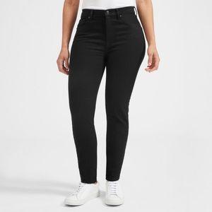 Everlane Black High Rise Skinny Jeans 32 Regular